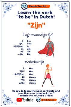 Dutch Phrases, Dutch Words, Learn Dutch, Dutch Language, Going Dutch, World Languages, Amsterdam Travel, Dutch Recipes, Netherlands