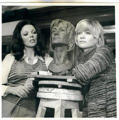 """Joan Collins & Judy Geeson """"Fear in the Night"""" 1972"""
