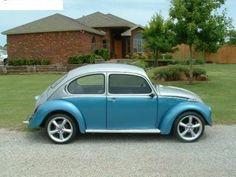 Custom 1973 VW Beetle