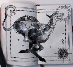 Check out this fun #sketchbook #drawing by inspirational artist Gabriel Picolo (@_picolo) depicting his interpretation of Canis Major the big dog constellation. Gabriel drew this as part of his Celestial Atlas illustration series and in his interpretation