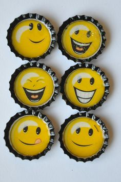 Smiley Face Fun Girly Bottle cap locker by LadybugPicnicDesigns Always Smile, Happy Smile, Smile Face, Make You Smile, Happy Faces, Smileys, Smiley T Shirt, Guy Smiley, Kpop Love