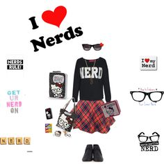 """I love Nerds!!!"" by sawilson98 on Polyvore"