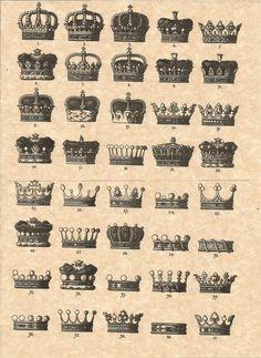 Coronets of the Grand Royal Principality of Doggerland