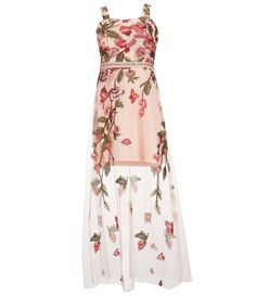 ffbf55fcf Shop for Poppies and Roses Big Girls 7-16 Embroidered Overlay Long Dress at  Dillards