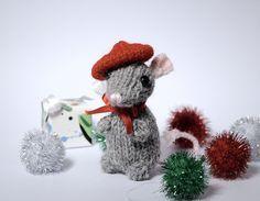 Cute Mouse Amigurumi - FREE Knit Pattern / Tutorial