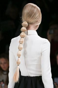 Valentino Fall 2014 braid//