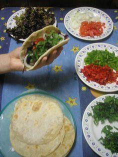 Masa para tacos, enchiladas, quesadillas, fajitas