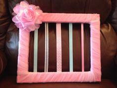 Tulle crazy bow holder on Etsy, $45.00