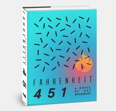 Fahrenheit 451 Re-Cover Project on Behance