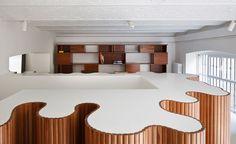 Brazilian furniture designer Etel Design opens its European flagship in a former gallery space in Milan, in collaboration with Como architecture firm Superluna Architecture, Interior Design, Space, Collaboration, Furniture, Modern, Travel, Wallpaper, Gallery