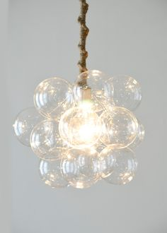 The Eighteen Bubble Chandelier as seen in by TheLightFactory