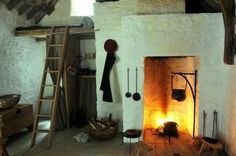 'Tudor life at St Fagans': A Proper Welsh Tudor Home Kitchen