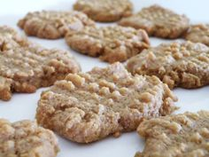 These low carb, gluten free Peanut Butter Cookies are so addictive. Make a large batch of dough and save some for the freezer to bake later.