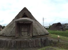 an ancient Japanese house