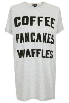 Coffee, Waffles, Pancakes Tee Topshop YES.
