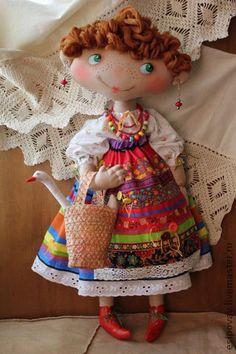 Коллекционные куклы ручной работы. Ярмарка Мастеров - ручная работа Гапочка. Handmade.