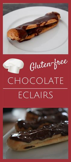 If you're gluten-free, you don't need to give up your chocolate eclairs. The puff pastry works well with GF flour and the recipe is not all that hard.