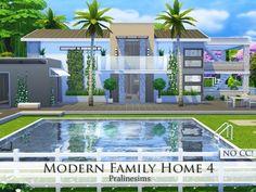 Pralinesims' Modern Family Home 4