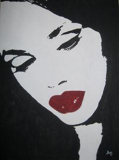 Saatchi Online Artist Aavneet Johar; Painting, Red Lips #art