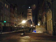 Gdańsk Piwna Street, Poland