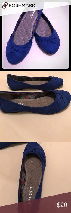 New report flats Brand new. Cobalt blue flats. Report Shoes Flats & Loafers