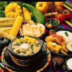 Have a healthy journey around Colombia while eating your five-a-day Colombian Dishes, Colombian Cuisine, Colombian Recipes, Okra, Fried Pork Belly, Hot Corn, Corn Cakes, Dominican Food, Comida Latina