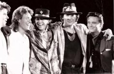 Stevie Ray, Steve Winwood & Double Trouble