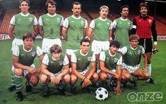 A.S SAINT-ETIENNE 1984-85. Saint Etienne, Football Team, Soccer Teams, Team Photos, Guy, Champion, Gilles, Retro, 1984