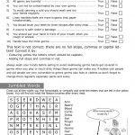 Personal Hygiene Worksheets For Kids Level 2 Sheet 7