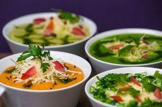 Conheça 8 receitas de sopas gourmet para aquecer o inverno | Itapema FM - Itapema SC Vegetarian Recipes, Cooking Recipes, Healthy Recipes, Polenta, Food For Thought, Salty Foods, Portuguese Recipes, Cocktails, Food Hacks