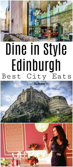 3 Spots to Dine in Style in Edinburgh - If you are looking for places to eat in Edinburgh, there are some fantastic luxury restaurants and here's 3 of the best for you to take a look at. Pin for your Scottish UK city break now.