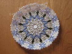 Deborah's PaperQuilling & BeadWeaving (love the shapes and the soft color combo-R)