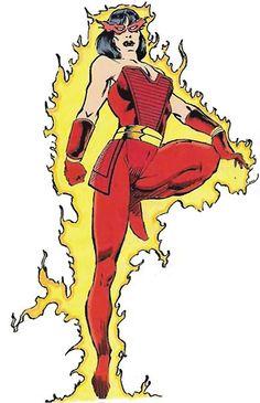 Silk Fever - Firewall - Marvel Comics - New Warriors enemy