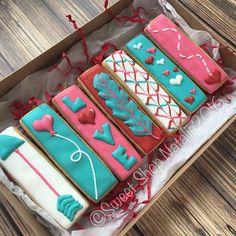 Valentine cookie sticks!