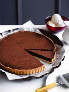 """""""The chocolate tart at Brass is one of the most delicious desserts I've tasted. Would chef Darren Taylor reveal how he makes it?"""""""