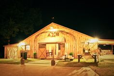 My  barn we restored for our wedding