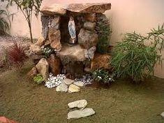 Resultado de imagen para grotto ideas Philippines - All For Garden Grotto Design, Marian Garden, Prayer Garden, Garden Waterfall, Ponds Backyard, Pool Images, Small Gardens, Philippines, Backyard Landscaping
