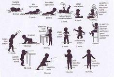 Mijlpalen in de motorische ontwikkeling   Wat moet mijn kind kunnen op welke leeftijd? Beschrijving van de motorische mijlpalen (grove en fijne motoriek) en vaardigheden van kinderen op verschillende leeftijden.