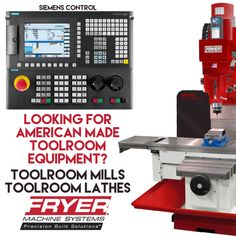 Looking for some Toolroom Equipment? Contact Humston Machinery for your needs. www.humstonmachinery.com #fryer #fryercnc #toolroom #cnc #cncmill #cnclathe #indiana #distributor #manualmill #humstonmachinery