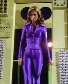 Erin Gray. Colonel Wilma Deering from Buck Rodgers was the first supporting female character I saw portrayed as fully equal to the leading male character.