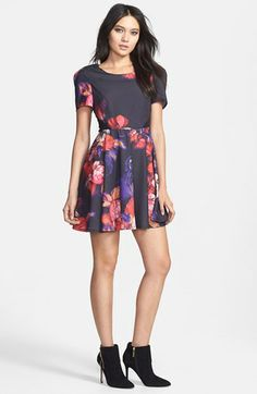 MINKPINK Flower Rever Dress - Spring Fashion Love: Florals | StorybookApothecary.com #floral #flower #spring #fashion #style #shoes #clothing #dresses #leggings #skater
