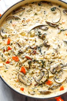 Crack Chicken Rice Soup with Mushroom and Bacon - - Quick, easy, and super satisfying. This crack chicken and rice soup recipe is pure comfort food at it's best. - by recipes Crack Chicken wild Rice Soup with Mushroom and Bacon Best Soup Recipes, Healthy Soup Recipes, Crockpot Recipes, Cooking Recipes, Soup Recipes With Chicken, Vegetarian Recipes, Zone Recipes, Bacon Recipes, Vegetarian Cooking
