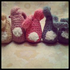 Smitten with it all...: *FREE* Crochet Easter Bunny Pattern