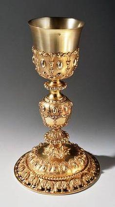 Caliz,neogotico,hecho por Marie Thierry  Paris 1853-85