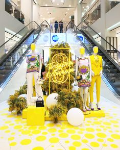 "DTL DEPARTMENT STORE, St.Petersburg, Russia, ""Yellow Spring Color Palette"", pinned by Ton van der Veer"