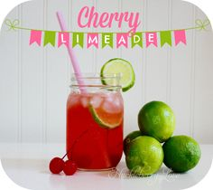 Huckleberry Love: Better than Sonic Cherry Limeade {Recipe}