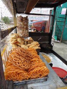 Snacks. Venta en la calle
