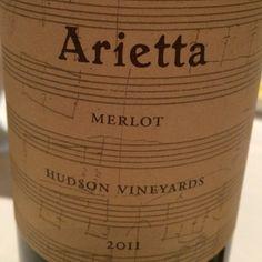 Arietta Merlot 2011 from Pearl Wine Co. | Square Market