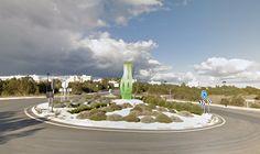 Rotonda de la posidonia (San Francisco Javier, Formentera)