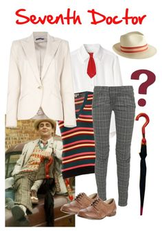 """""""Seventh Doctor inspired Outfit"""" by clararycbar ❤ liked on Polyvore featuring rag & bone, Peter Jensen, WALL, Marni, Balmain, Dune and Ralph Lauren"""
